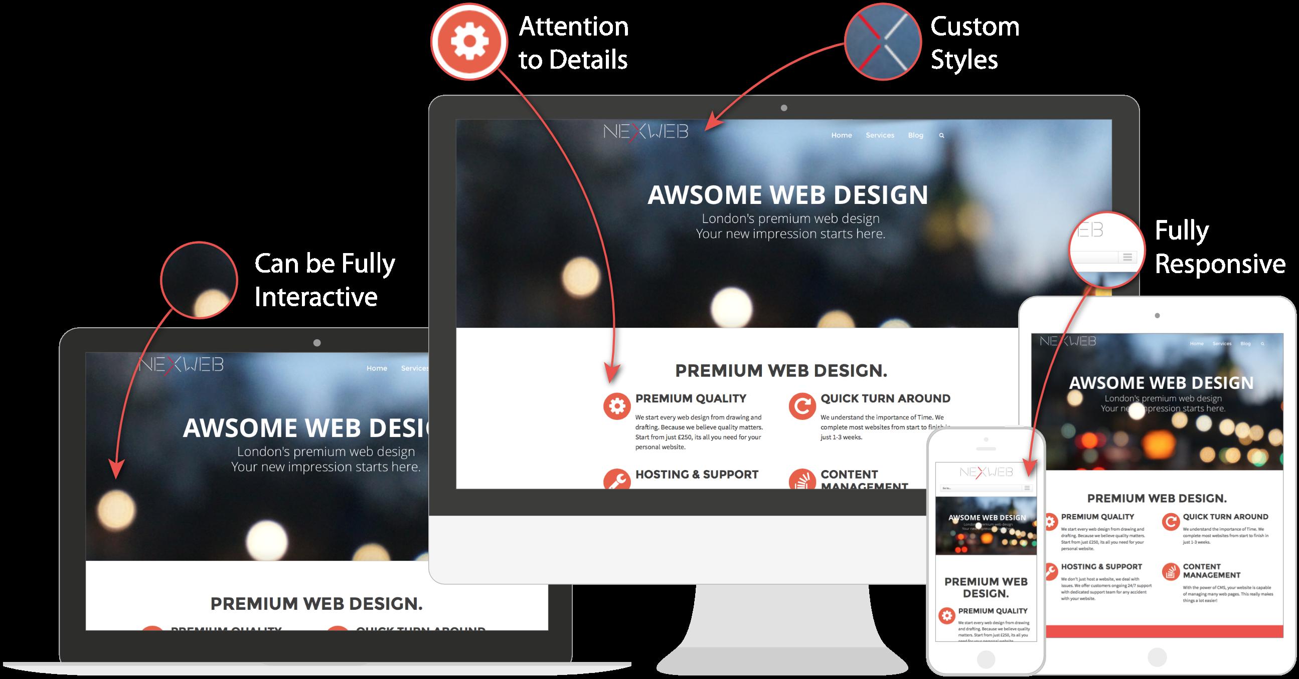 Home - NexWeb Web Design and Development